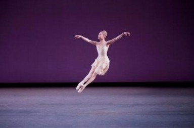 Sara Mearns in Walpurgisnacht Ballet.  Photo Paul Kolnik