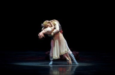 Alina Cojocaru and Herman Cornejo in La Bayadere Photo Gene Schiavone