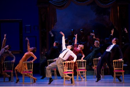 "Christopher Wheeldon's ""An American in Paris"" Photo Angela Sterling"