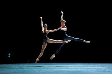 David Dawson's Empire Noir (Dancers Suzanna Kaic and Edo Wijnen) Photo Angela Sterling