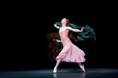 Evgenia Obraztsovaas Juliet in ABT's production of Kenneth MacMillan's Romeo and Juliet Photo Rosalie O'Connor