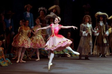 Gillian Murphy as Princess Aurora in The Sleeping Beauty Photo Gene Schiavone