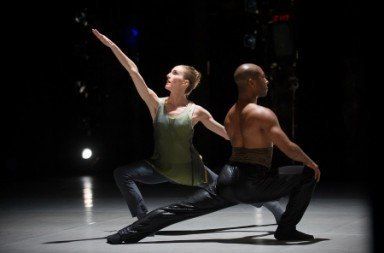 Kyle Abraham and Wendy Whelan in The Serpent and The Smoke.  Photo Christopher Duggan