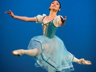 Napoli. Riho Sakamoto in the pas de six from Napoli Photo Michel Schnater