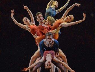 New English Ballet Theatre in Valentino Zucchetti's Orbital Motion Photo Dave Morgan
