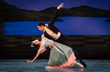 Rosa Park and Nazer Salgado of Singapore Dance Theatre in Midnight Waltzes  Photo Bernie Ng