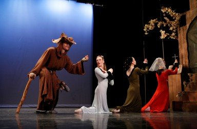 New York Theatre Ballet in Agnes de Mille's Three Virgins and a Devil Photo Richard Termine