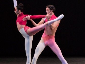Brittany Pollack and Peter Walker in Justin Peck's New Blood Photo Paul Kolnik