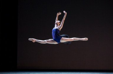 Chelsea Adomaitis in Christopher Wheeldon's Tide Harmonic Photo Angela Sterling
