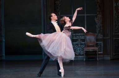 Jennie Somogyi and Tyler Angle in  Liebeslieder Walzer Photo Paul Kolnik