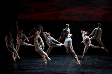 Royal New Zealand Ballet in Neil Ieremia's Passchendaele Photo Ellie Richards