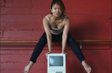 Suzette Sagisi in Katharine Hawthorne's Mainframe Photo by Ben Hersh