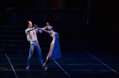 Liu Miao-miao and Wei Wei in Romeo and Juliet Photo Conrad Dy-Liacco