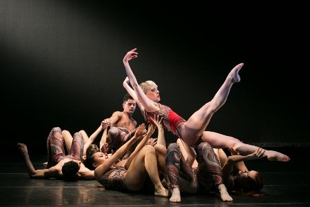 Dancers of the Elisa Monte Dance Company Photo Matthew Murphy