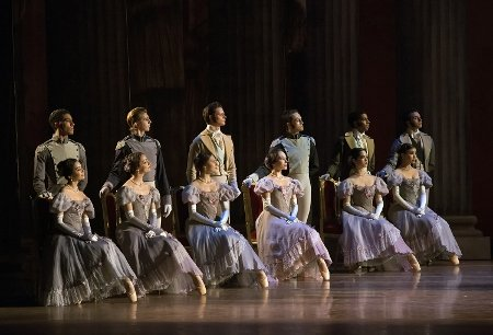 "Boston Ballet in John Cranko's ""Onegin"" Photo by Gene Schiavone"