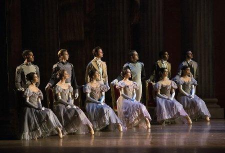 "Boston Ballet in John Cranko's ""Onegin"" Photo by Gene Schiavone"