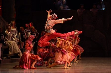 "The Mariinsky Ballet's Yuri Smekalov as Adberakhman in ""Raymonda"" Photo Natasha Razina"