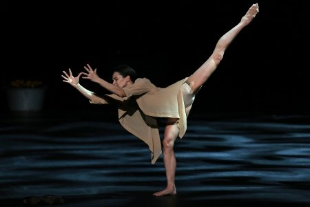 "Mariinsky Ballet's Diana Vishneva in ""Woman in a Room"" Photo Julieta Cervantes"