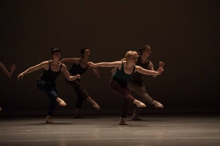 "The Stone Dance Collective in ""Carbon Black and Fiber"" Photo Rex Tranter"