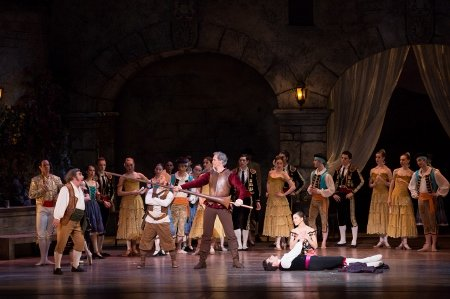 "Artists of Pennsylvania Ballet in ""Don Quixote"" Photo Alexander Iziliaev"