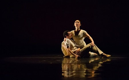"American Repertory Ballet Mizuki Sato and Mario Gonzalez in Jose Limon's ""There Is a Time"" Photo Brad Resnick"