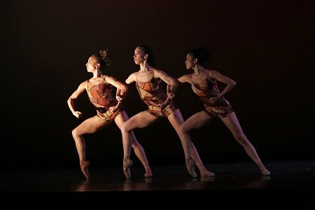 "Dancers of Dance Theatre of Harlem in ""Change"" Photo Jeff Cravotta"
