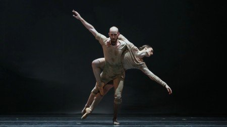 "Drew Jacoby and Matt Foley in ""Fall"" Photo Amitava Sarkar InSight Photography"