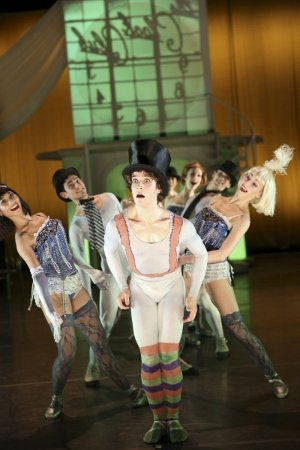 "Erez Ben-Zion Milatin and Gelsey Kirkland Ballet dancers in Michael Chernov's ""Stealing Time"" Photo Travis Magee"