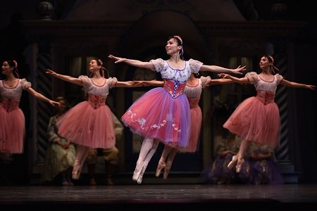 "San Francisco Ballet's Frances Chung in Balanchine's ""Coppélia"" Photo Erik Tomasson"