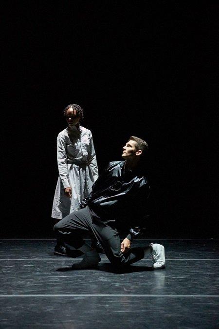 "Aspen Santa Fe Ballet Craig Black and Jenelle Figgins in ""Re:play"" Photo Michael Alvarez"