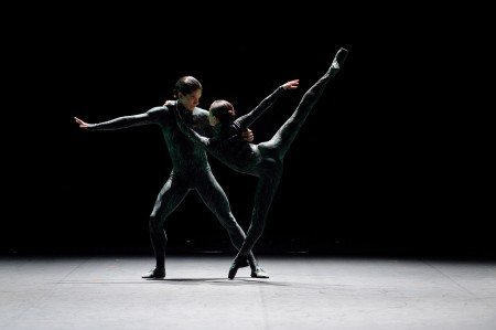 "Erina Takahashi and Isaac Hernandez in ""Fantastic Beings"" Photo Laurent Liotardo"