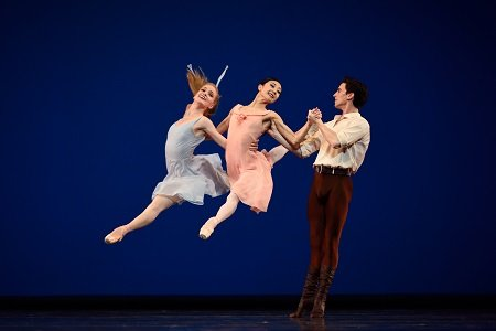 "San Francisco Ballet in ""Dances at a Gathering"" by Jerome Robbins Photo Erik Tomasson"