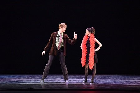"Tulsa Ballet's Madalina Stoica and Andrew Silks in Christopher Bruce's ""Rooster"" Photo Tulsa Ballet"