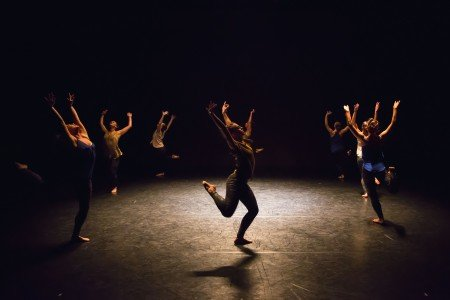"Ariel Rivka Dance in ""Variations On a Box"" Photo David Gonsier"