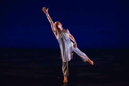 "Elisa King in ""Sky Blue"" Photo David Gonsier"