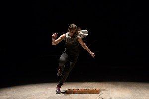 "Ephrat Asherie of Dorrance Dance in ""ETM: Double Down"" Photo Christopher Duggan"