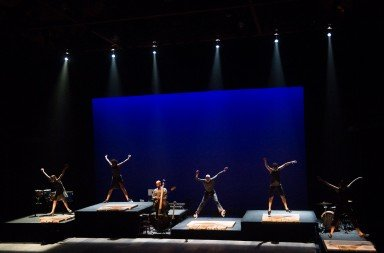 "Dancers of Dorrance Dance in ""ETM: Double Down""     Photo Christopher Duggan"