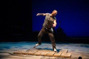 """Nicholas Van Young of Dorrance Dance in """"ETM: Double Down"""" Photo Christopher Duggan"""