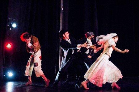 "Dancers of Gelsey Kirkland Ballet in ""The Wedding Procession"" Photo Anna Kuzmina"