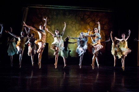 "Dancers of Gelsey Kirkland Ballet in ""Walpurgis Night"" Photo Anna Kuzmina"
