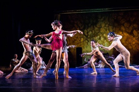 "Nina Yoshida and Dancers of Gelsey Kirkland Ballet in ""Walpurgis Night"" Photo Anna Kuzmina"