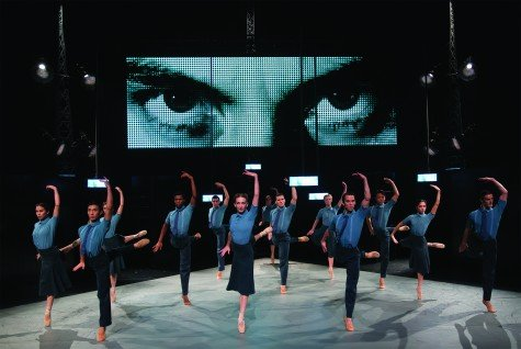 "Northern Ballet in Jonathan Watkins' ""1984"" Photo Emma Kauldhar"