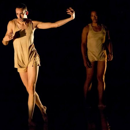 "Aaron McGloin and Gierre J. Godley in Project 44's ""3 Breaths"" Photo Mark Simpson Photography"