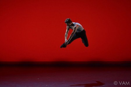 "Daniel Ulbricht of New York City Ballet in Servy Gallardo's ""Piazzolla Tango"" Photo Siggul/VAM"