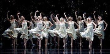 "Dancers of American Ballet Theatre in Alexei Ratmansky's ""Firebird"" Photo Gene Schiavone"