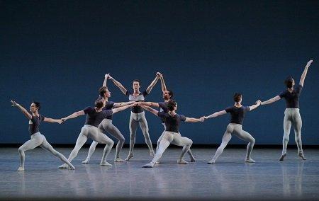 "New York City Ballet in ""Kammermusik No. 2"" Photo Paul Kolnik"