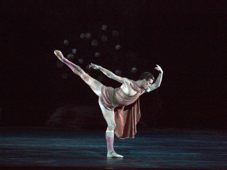 "Blaine Hoven of American Ballet Theatre in Sir Frederick Ashton's ""Sylvia"" Photo Rosalie O'Connor"