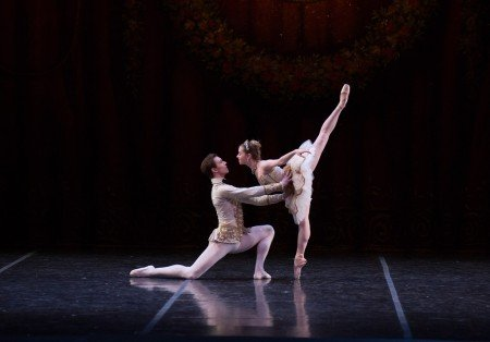 "Graham Johns and Brenna Flaherty in ""The Sleeping Beauty"" Photo Rosalie O'Connor"