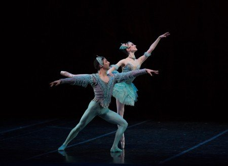 "Lex Ishimoto and Abigail Merlis in ""The Sleeping Beauty"" Photo Rosalie O'Connor"