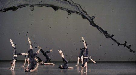 """Members of Jessica Lang Dance in """"i.n.k."""" Photo Todd Burnsed"""